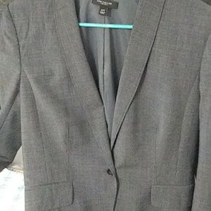 Ann taylor one button blazer with pants